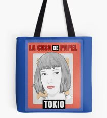 TOKIO La casa de Papel By Mimie Tote Bag