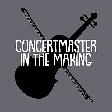 Concertmaster in the Making by dweebcocreation