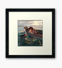 Fish Thief Framed Print