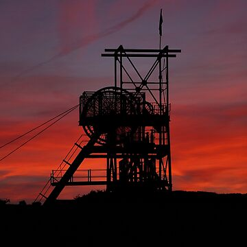 Sunset at Big Pit by sjbaldwin