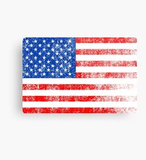 Patriotic American Flag Independence Day Artwork Metal Print