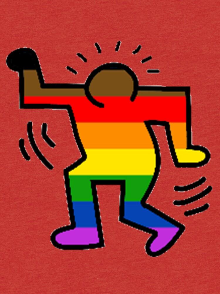 Keith Haring Homosexuell von Freshfroot
