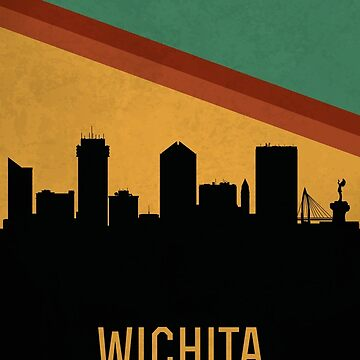 Wichita skyline by SvenHorn