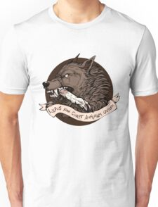 Lupus Brown Unisex T-Shirt