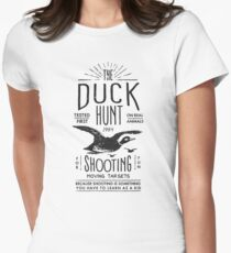 DUCK HUNT Women's Fitted T-Shirt