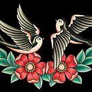 «Tatuaje de Golondrinas» de Retrocrix