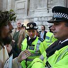 Jesus vs The Metropolitan Police by Chris Hardley
