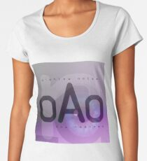 D-White Noise - OAO The Remixes Premium Scoop T-Shirt