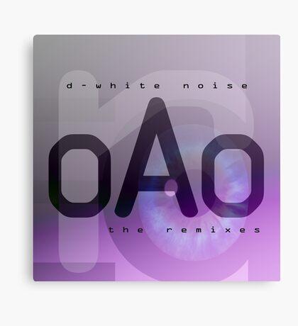 D-White Noise - OAO The Remixes Canvas Print