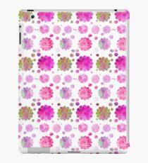 Vinilo o funda para iPad Vintage pastel watercolor abstract floral pattern