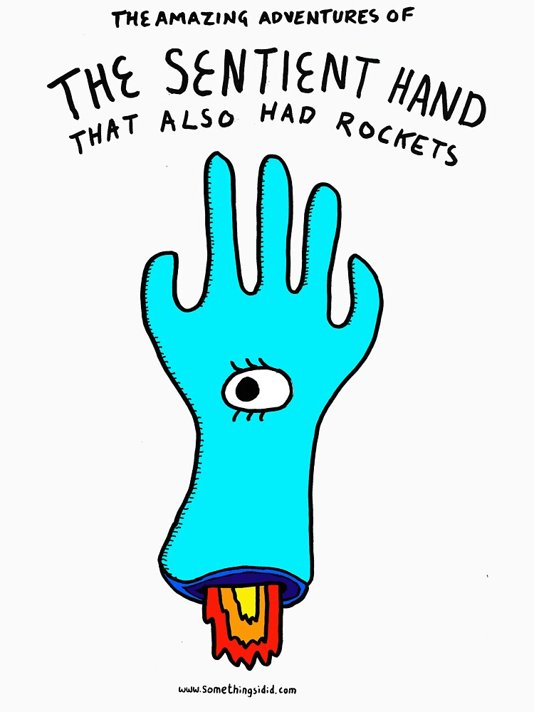 The Sentient Hand that also had rockets by stevexoh