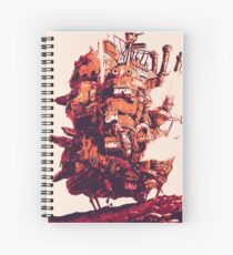 Cuaderno de espiral Howl's Moving Castle
