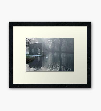 Refuge Of The Cross Framed Print