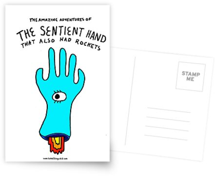 The Amazing Adventures of the Sentient Hand that also had rockets  by stevexoh