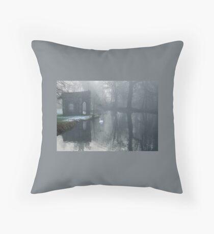 Refuge Of The Cross Floor Pillow