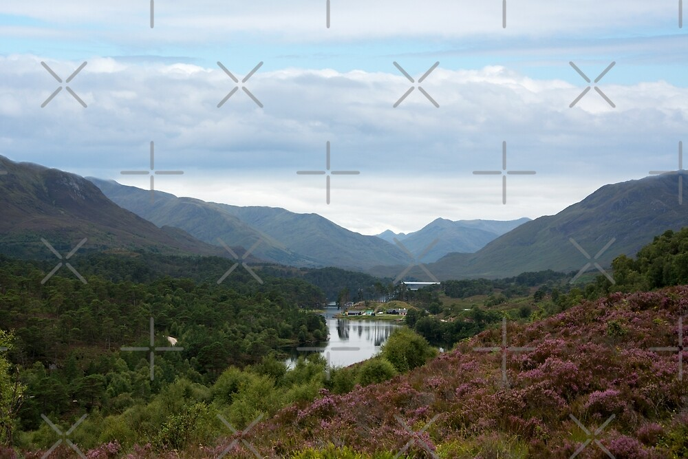 Look West from Loch Affric by SiobhanFraser