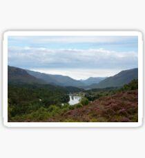 Look West from Loch Affric Sticker