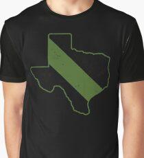 Customs Border Patrol Texas Park Ranger CBP Game Warden Graphic T-Shirt