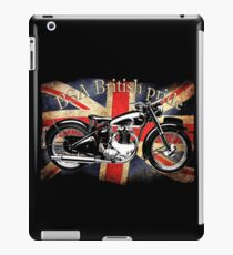 Vintage Classic British BSA Motorcycle Icon iPad Case/Skin