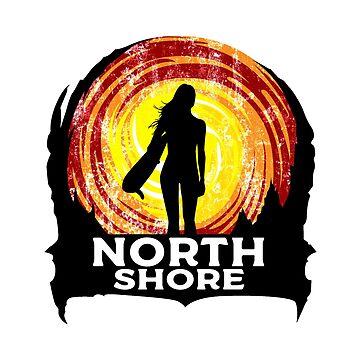 Surfing North Shore Hawaii Oahu Surf Surfboard Waves Surfer Diamond by MyHandmadeSigns