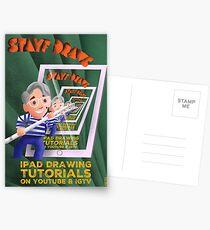 Stayf Draws Art Deco Poster Postcards