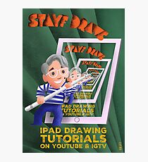 Stayf Draws Art Deco Poster Photographic Print