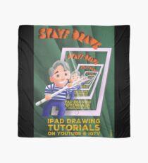 Stayf Draws Art Deco Poster Scarf