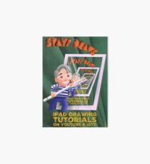 Stayf Draws Art Deco Poster Art Board Print