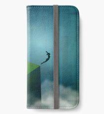 Broken Blue iPhone Wallet/Case/Skin
