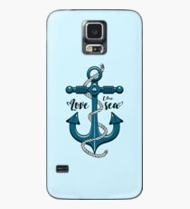Love the Sea Case/Skin for Samsung Galaxy