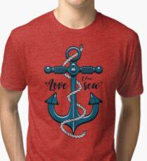 Love the Sea Tri-blend T-Shirt