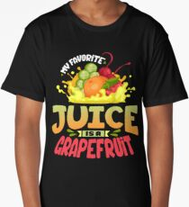 Grapefruit Juice T Shirt Long T-Shirt