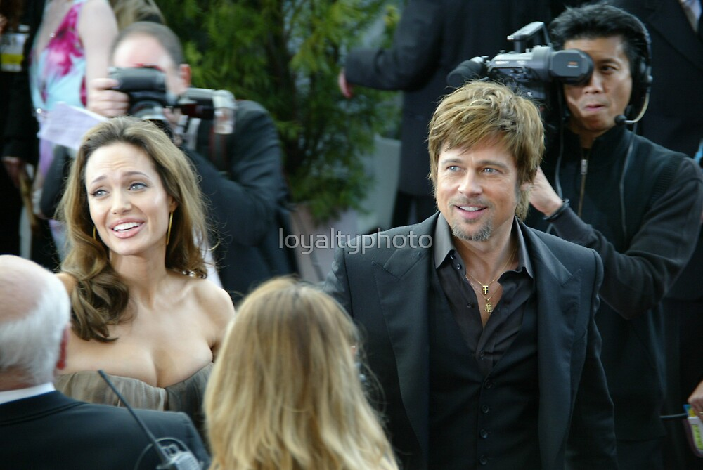 brad and jolie  by loyaltyphoto