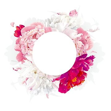 Floral Circle by bandsnthings