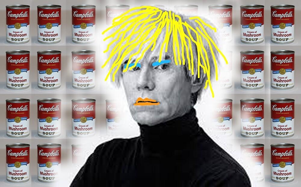 Warhol On Warhol Stolen From Warhol by Graham Geldard