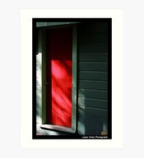 Bunkhouse Door Art Print