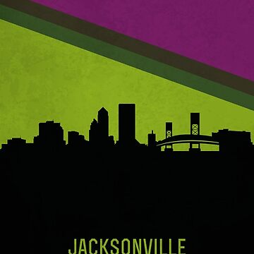 Jacksonville skyline by SvenHorn