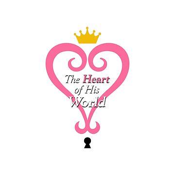 Kingdom Hearts Romance - Hers by Deekman