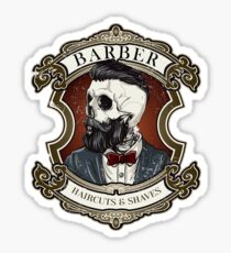 Best Barber Shirt  Haircut and Saves  Sticker