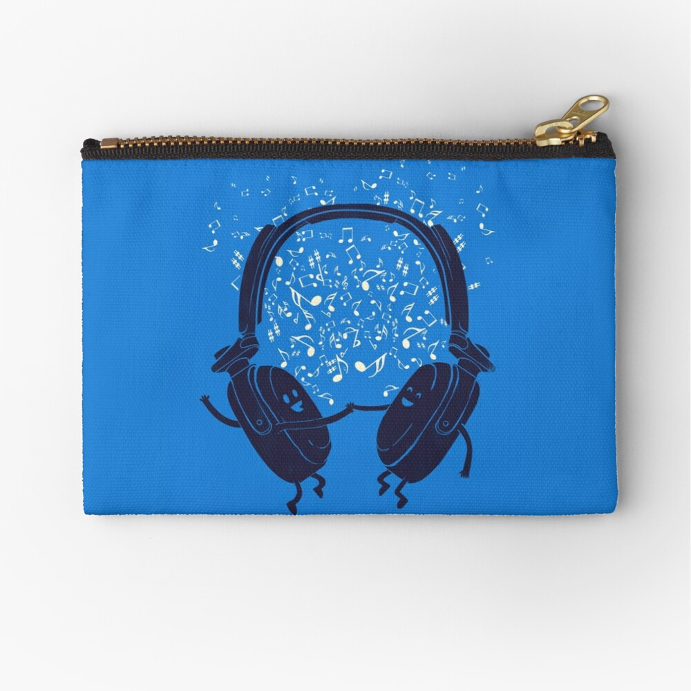 Let's dance Zipper Pouch