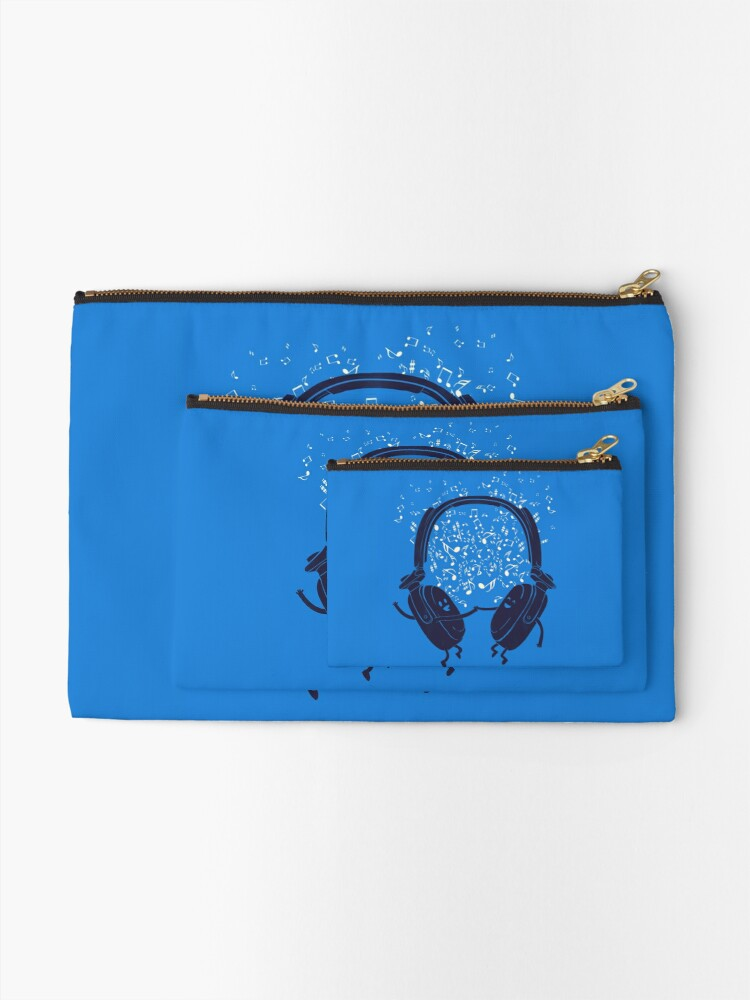 Alternate view of Let's dance Zipper Pouch