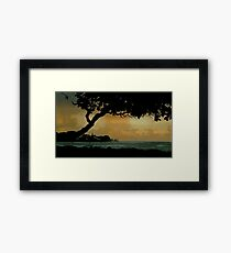 Tree Cover... Kauai Sensual Series Framed Print