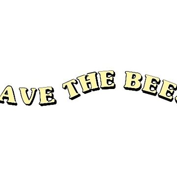 SAVE THE BEES FLOWER BOY BEE VINE TUMBLR AESTHETIC MUTUAL LOVE TYLER REX ORANGE COUNTY OVERALLS EMMA CHAMBERLAIN FLOWERS FIELDS NATURE by KOTTNKANDY