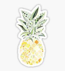 Small pineapple colorful mandala Sticker