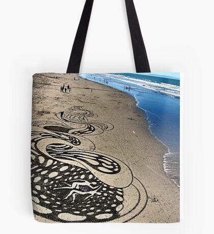 unreal. new brighton beach, aotearoa  Tote Bag