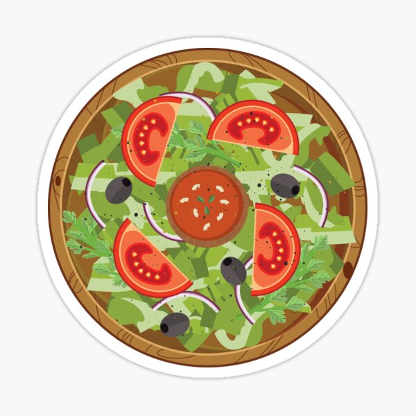 House Salad Sticker