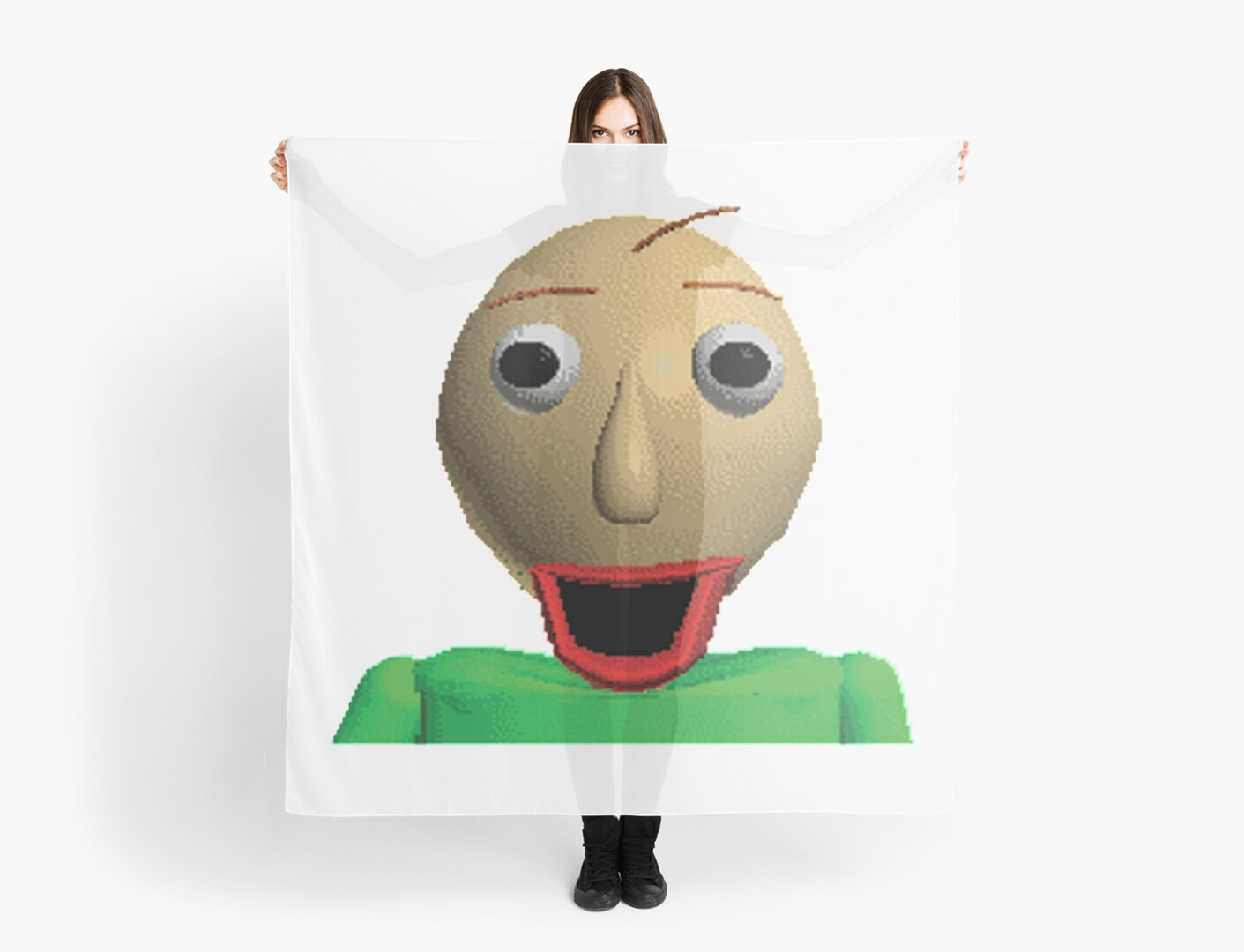 """Happy Baldi In Baldi's Basics In Education And Learning"