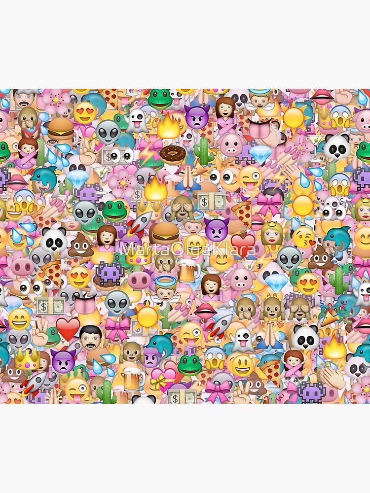 glückliches Emoji Muster von MartaOlgaKlara