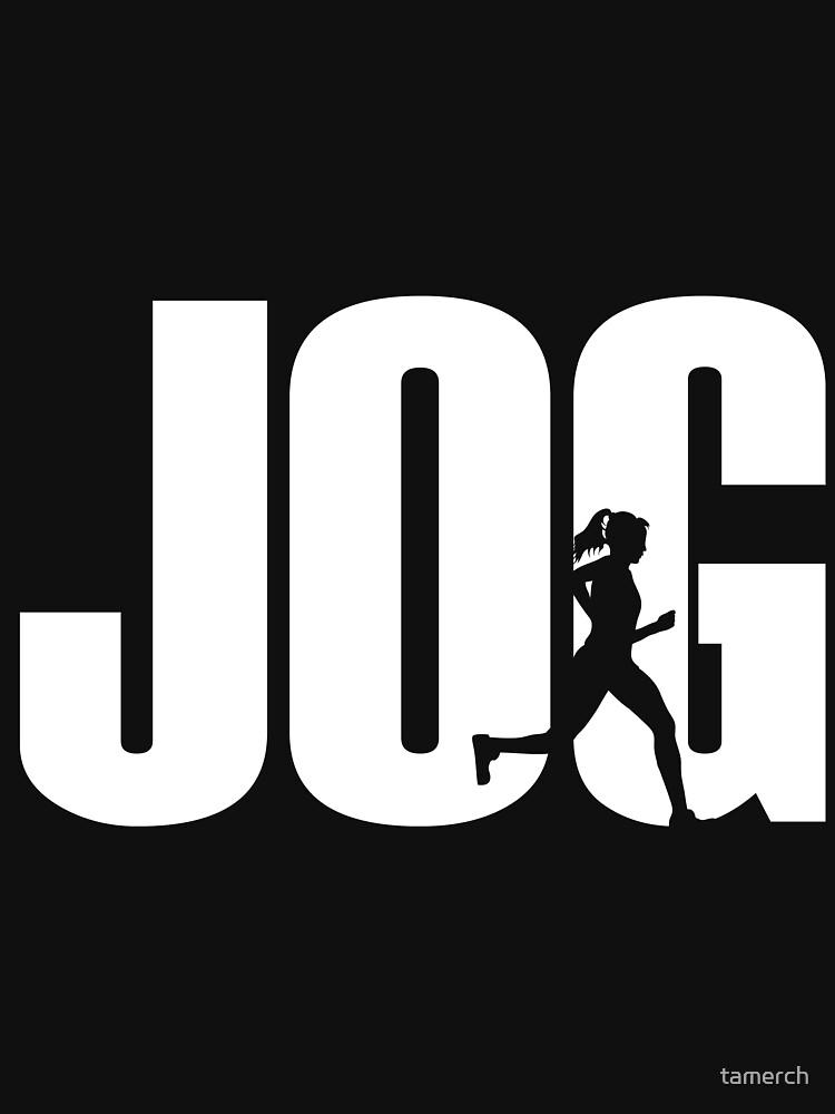 Jogging runner jogger by tamerch
