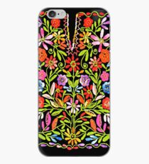 Palestinian Flowers Embroidery iPhone Case